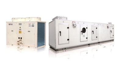 Модульная установка подачи воздуха DC